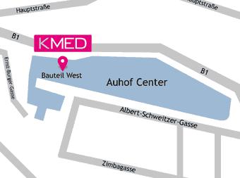 Lageplan KMED Auhof, 1140 Wien